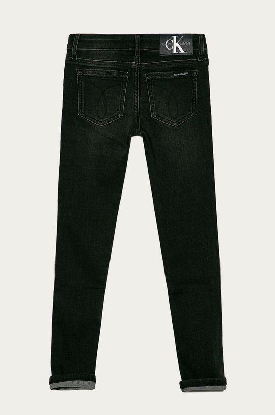 Calvin Klein Jeans - Detské rifle 140-176 cm  70% Bavlna, 1% Elastan, 20% Polyester, 9% Viskóza