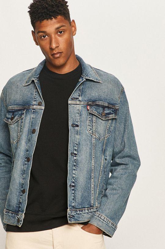 albastru Levi's - Geaca jeans De bărbați