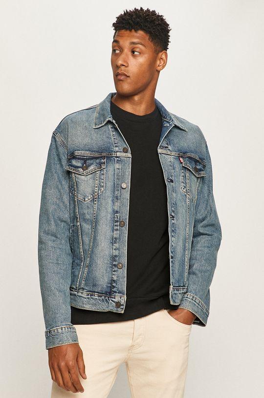 modrá Levi's - Džínová bunda