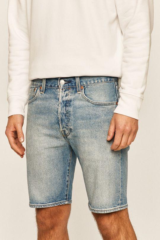 modrá Levi's - Džínové šortky 501 Pánský