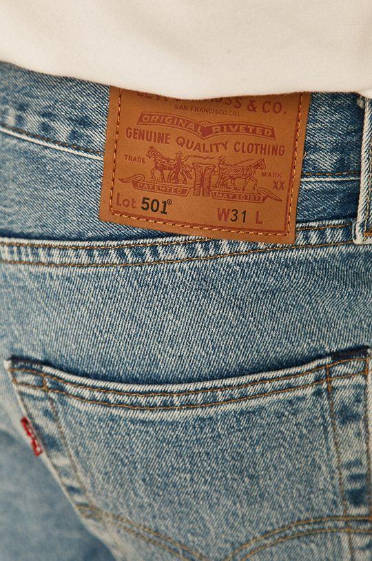 modrá Levi's - Džínové šortky 501