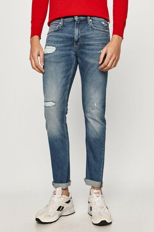 niebieski Calvin Klein Jeans - Jeansy Ckj 026 Męski