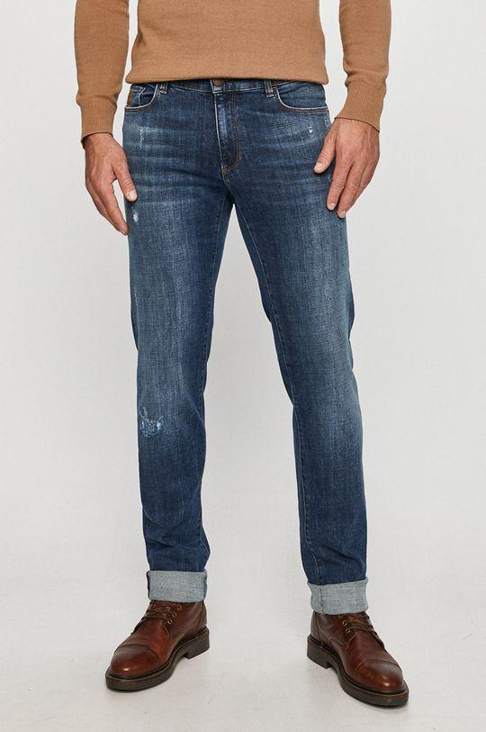 modrá Trussardi Jeans - Džíny 370 Close Pánský