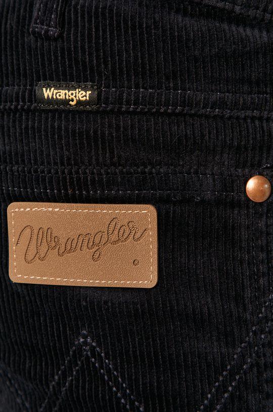 granatowy Wrangler - Spodnie