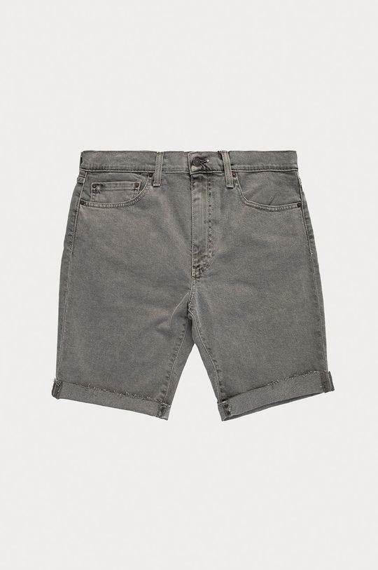 sivá Levi's - Rifľové krátke nohavice Pánsky