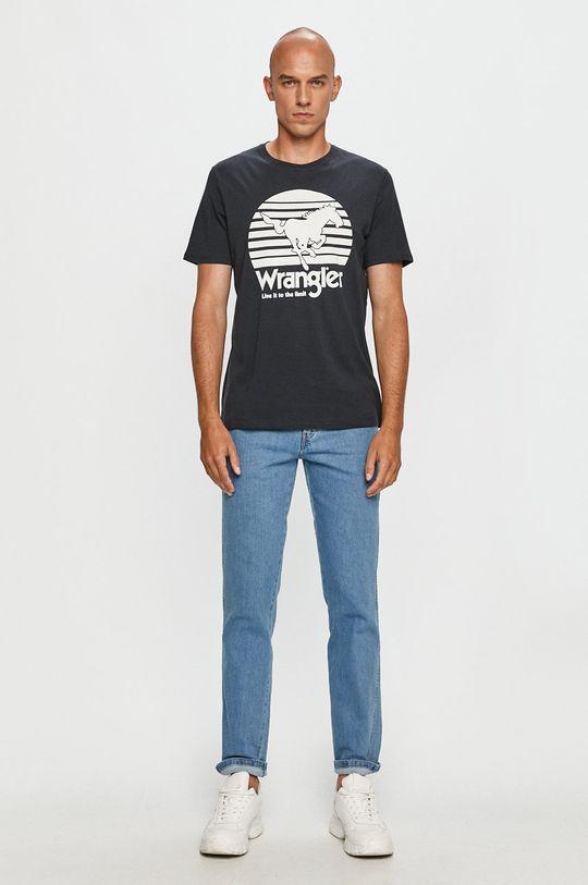 Wrangler - Jeansi albastru deschis