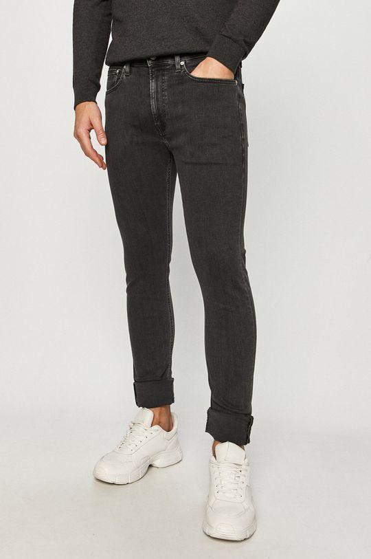 černá Calvin Klein Jeans - Džíny CKJ016 Pánský