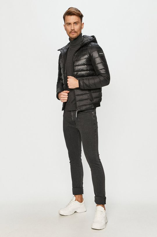 Calvin Klein Jeans - Džíny CKJ016 černá