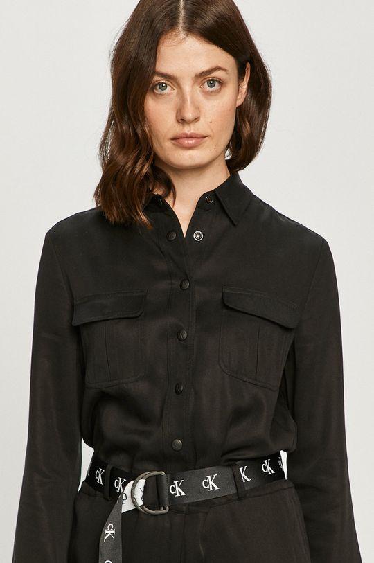 negru Calvin Klein Jeans - Salopeta