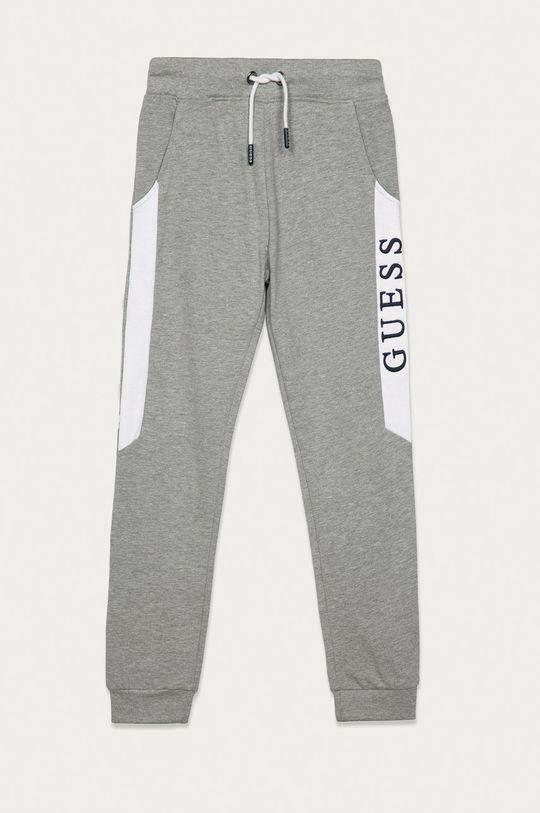 šedá Guess Jeans - Dětské kalhoty 116-175 Chlapecký