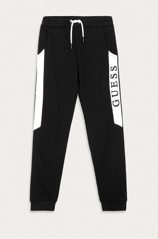 negru Guess Jeans - Pantaloni copii 116-175 De băieți