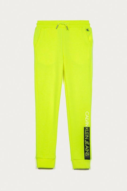 galben Calvin Klein Jeans - Pantaloni copii 128-176 cm De băieți