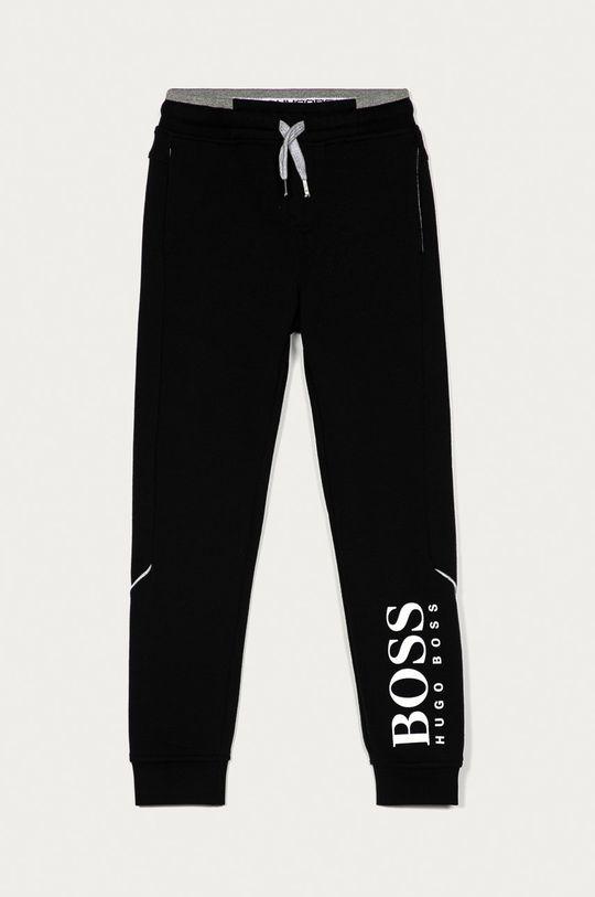 чорний Boss - Дитячі штани Для хлопчиків