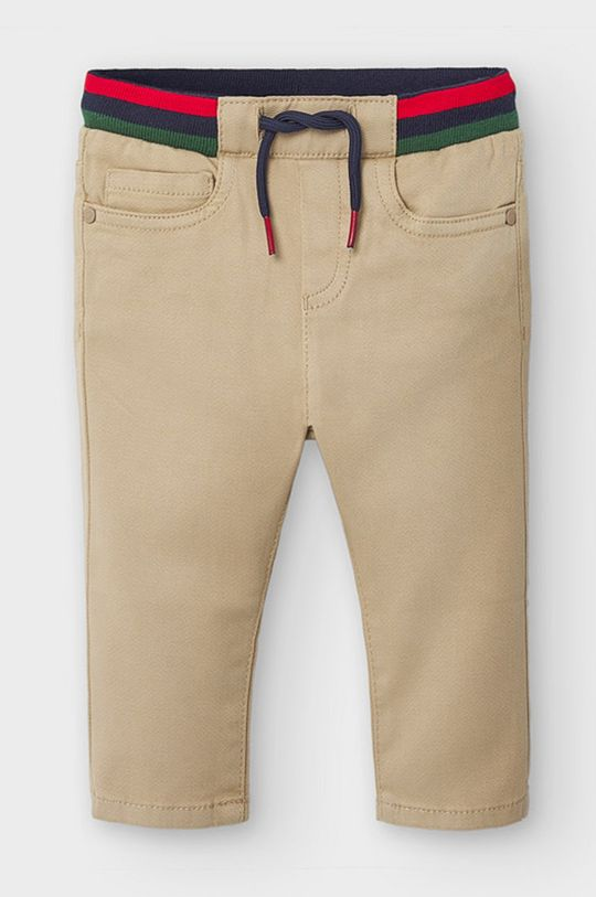 svetlobéžová Mayoral - Detské nohavice 68-98 cm Chlapčenský