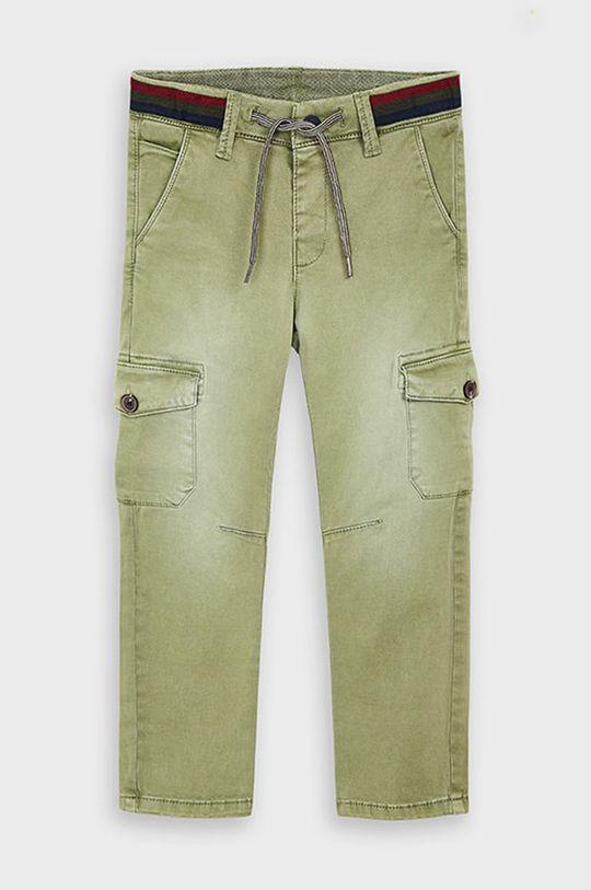 Mayoral - Pantaloni copii 98-134 cm masliniu deschis