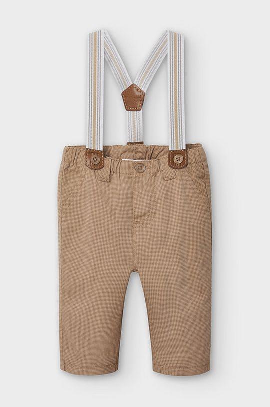 béžová Mayoral Newborn - Detské nohavice 60-86 cm Chlapčenský