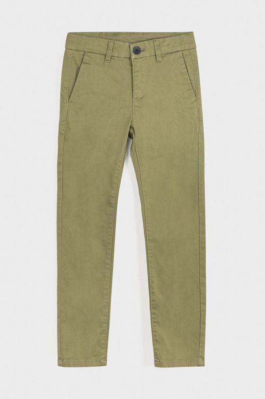 zelená Mayoral - Detské nohavice 128-172 cm Chlapčenský