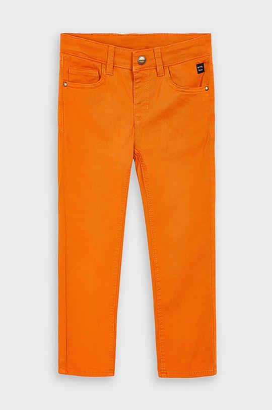 Mayoral - Spodnie dziecięce 92-134 cm bursztynowy