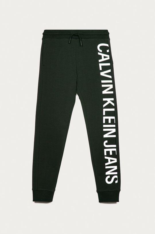 černá Calvin Klein Jeans - Dětské kalhoty 128-176 cm Chlapecký