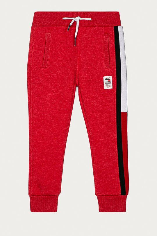 červená Tommy Hilfiger - Dětské kalhoty 98-176 cm Chlapecký
