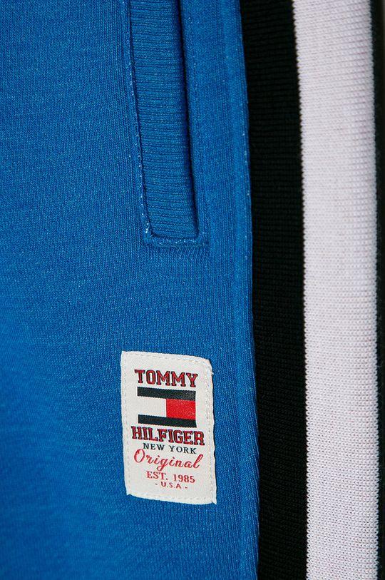 Tommy Hilfiger - Pantaloni copii 98-176 cm  Materialul de baza: 70% Bumbac, 30% Poliester  Banda elastica: 68% Bumbac, 5% Elastan, 27% Poliester