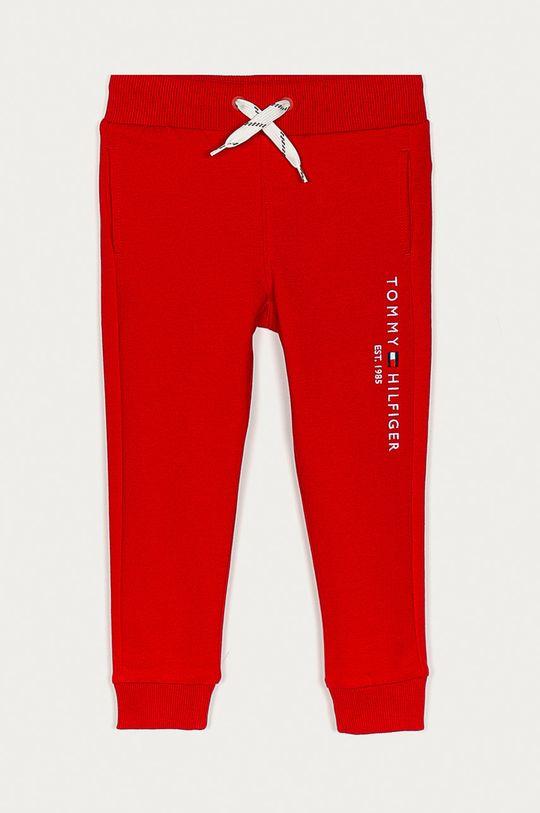 rosu Tommy Hilfiger - Pantaloni copii 98-176 cm De băieți