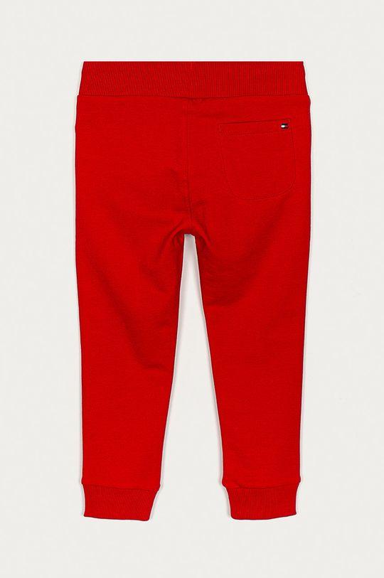 Tommy Hilfiger - Pantaloni copii 98-176 cm rosu