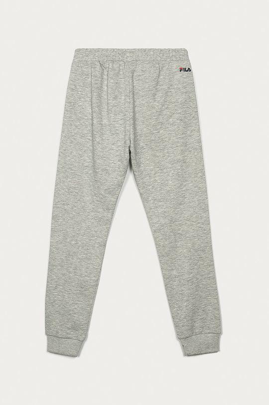 Fila - Dětské kalhoty 134-164 cm světle šedá