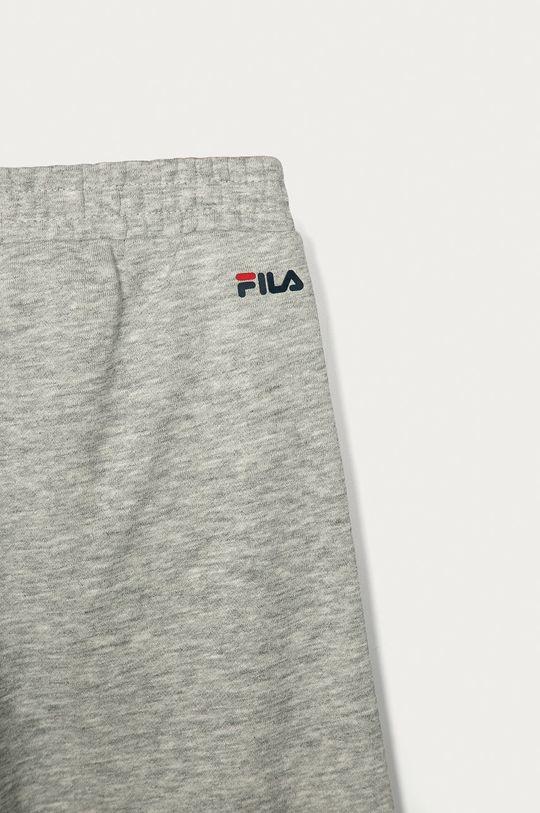 světle šedá Fila - Dětské kalhoty 134-164 cm