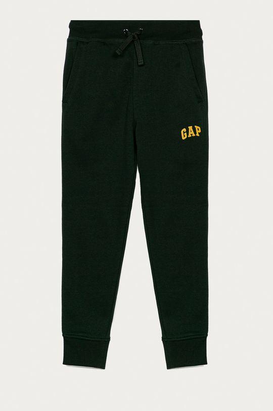 tmavě zelená GAP - Dětské kalhoty 104-176 cm Chlapecký
