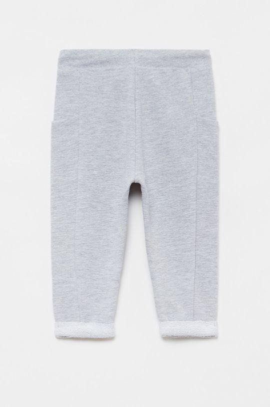 OVS - Detské nohavice 74-98 cm sivá