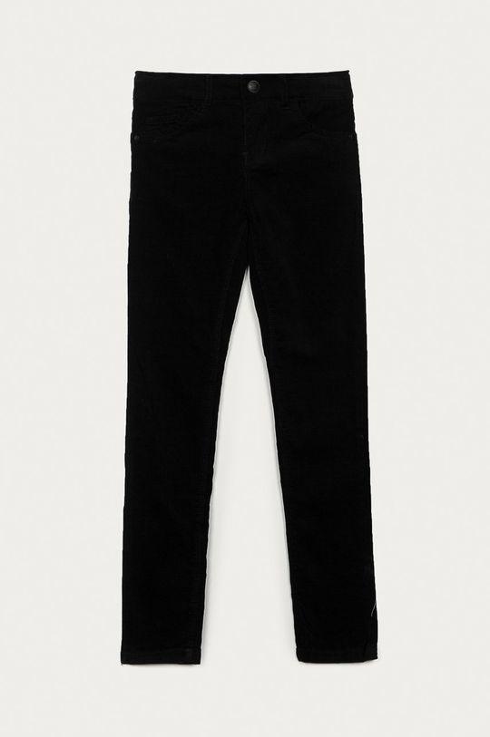 černá Name it - Dětské kalhoty 128-164 cm Dívčí