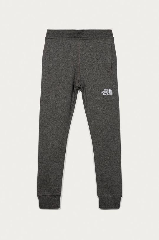 šedá The North Face - Dětské kalhoty 122-163 cm Chlapecký