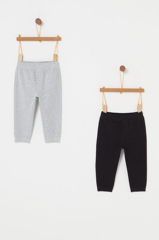 чорний OVS - Дитячі штани 74-98 cm (2-pack) Для хлопчиків