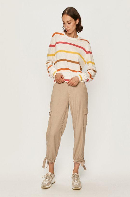 Tommy Jeans - Spodnie beżowy