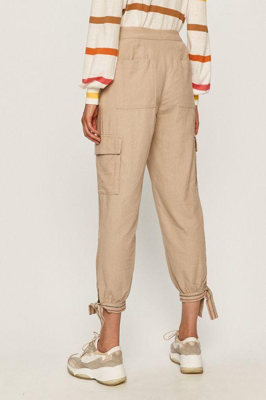 Tommy Jeans - Spodnie 23 % Bawełna, 9 % Len, 68 % Wiskoza
