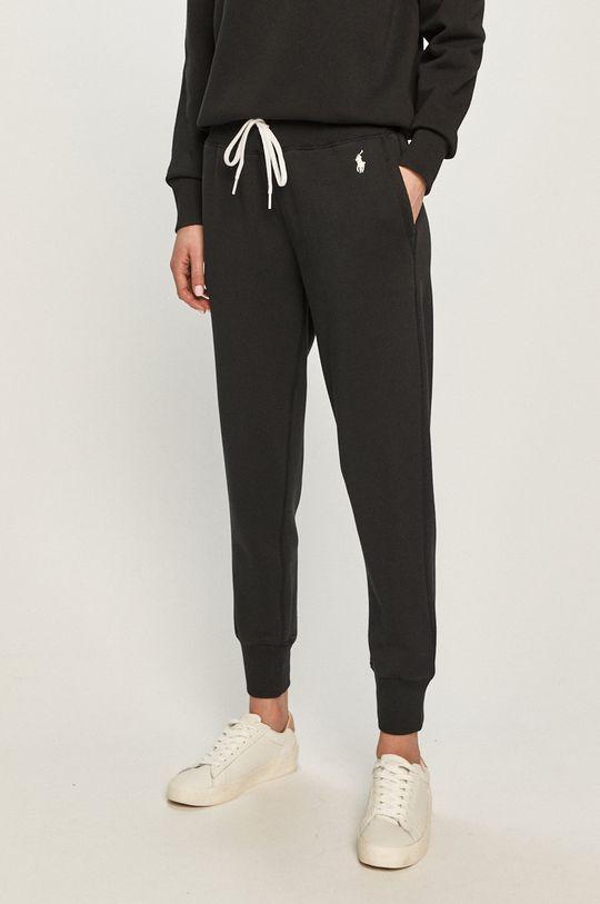 černá Polo Ralph Lauren - Kalhoty Dámský