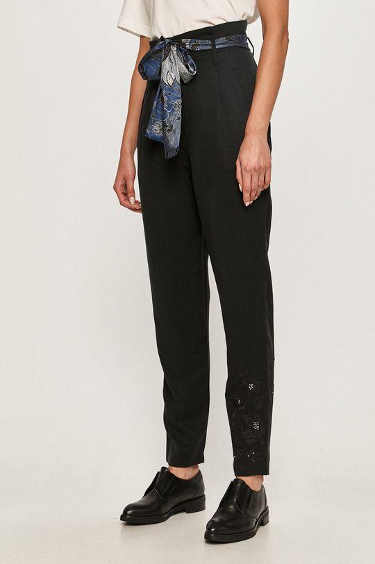negru Desigual - Pantaloni De femei