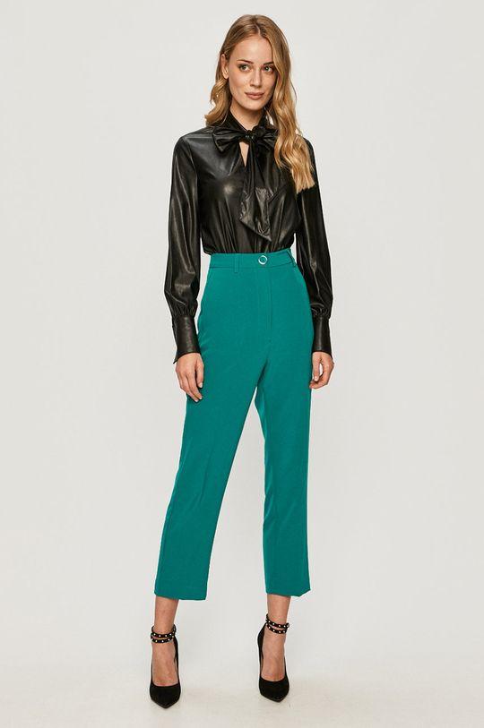 Guess Jeans - Nohavice tyrkysová modrá