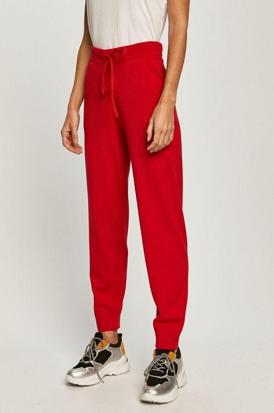 červená Guess Jeans - Nohavice Dámsky
