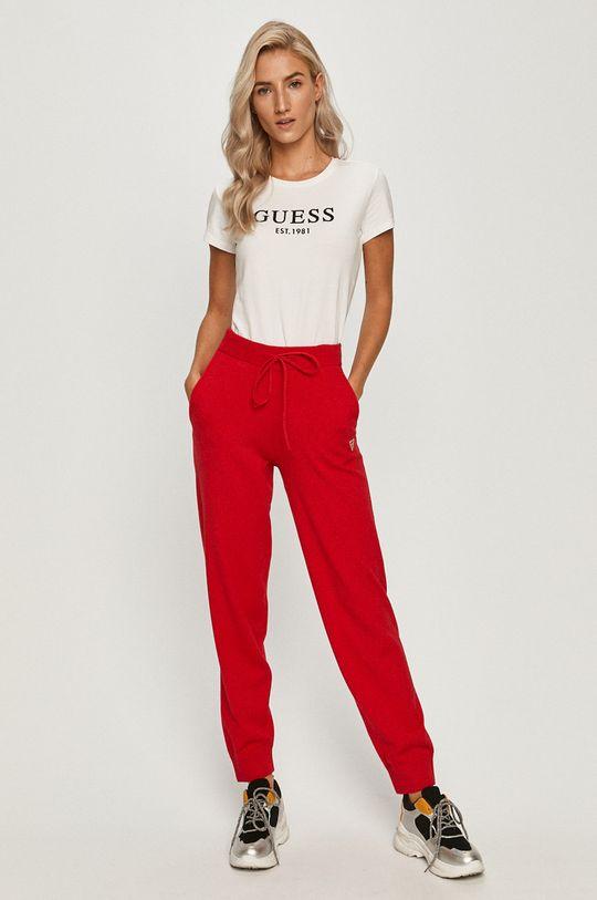 Guess Jeans - Nohavice červená