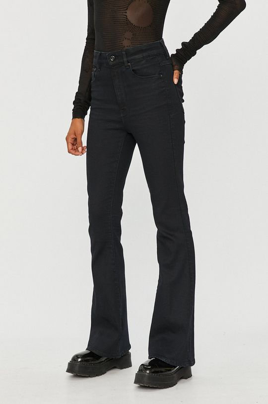 czarny G-Star Raw - Spodnie Damski