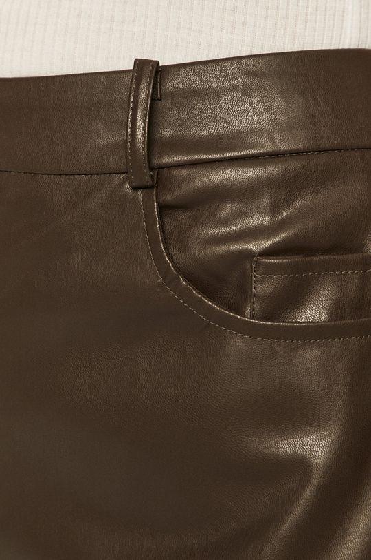 brązowy Only - Spodnie