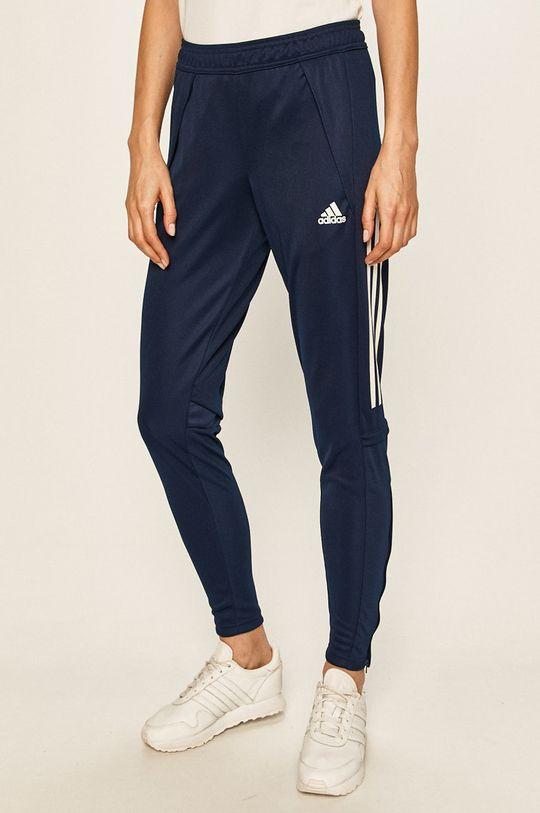námořnická modř adidas Performance - Kalhoty Dámský