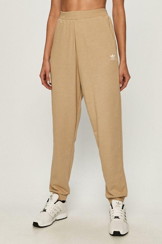 пшеничний adidas Originals - Штани Жіночий