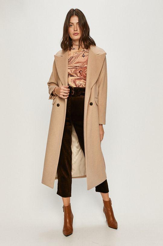 Pinko - Spodnie ciemny brązowy