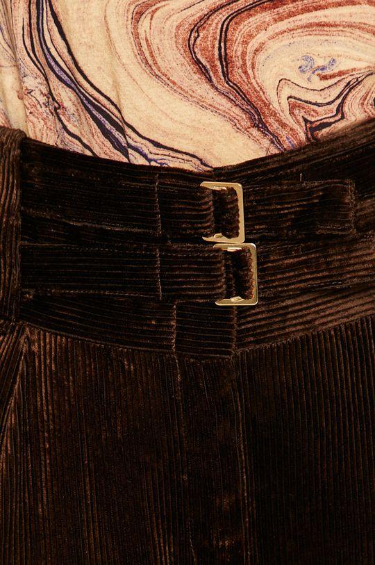 ciemny brązowy Pinko - Spodnie