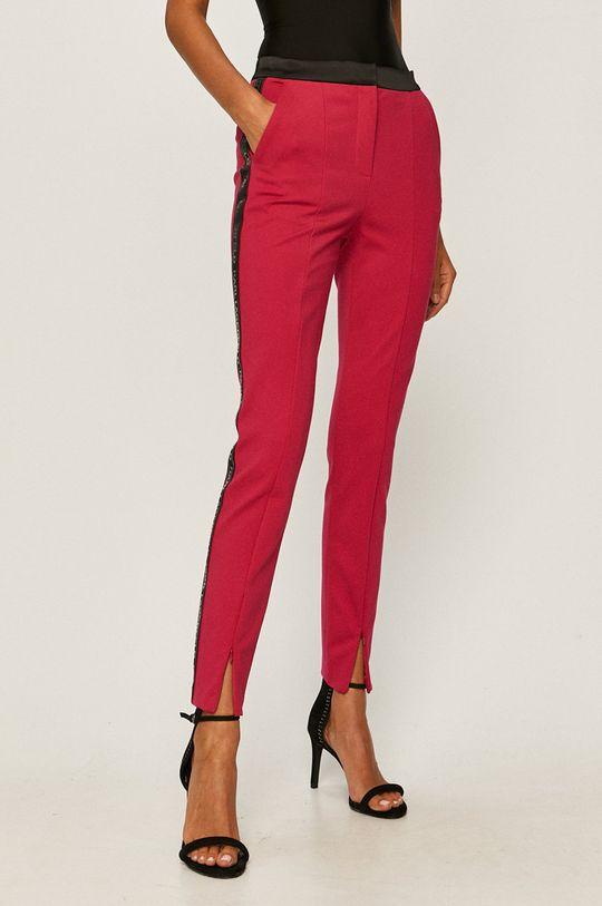 sýto ružová Karl Lagerfeld - Nohavice Dámsky