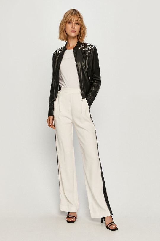 Karl Lagerfeld - Kalhoty bílá