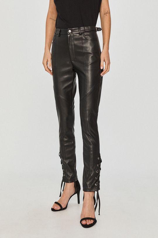 černá Silvian Heach - Kalhoty